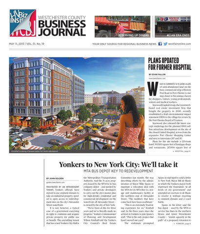 Westchester county business journal 051115 by wag magazine issuu page 1 freerunsca Choice Image