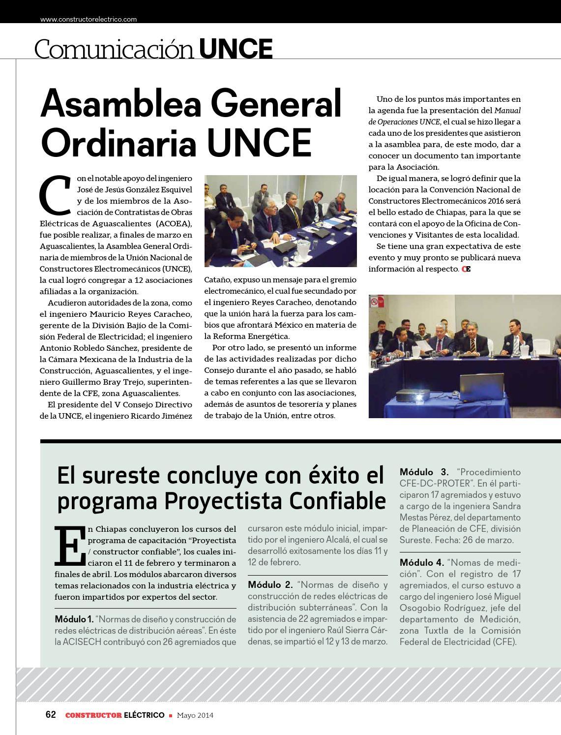 Revista Constructor Electrico Junio By Puntual Media Issuu