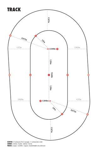 roller derby - track by braky kennedy