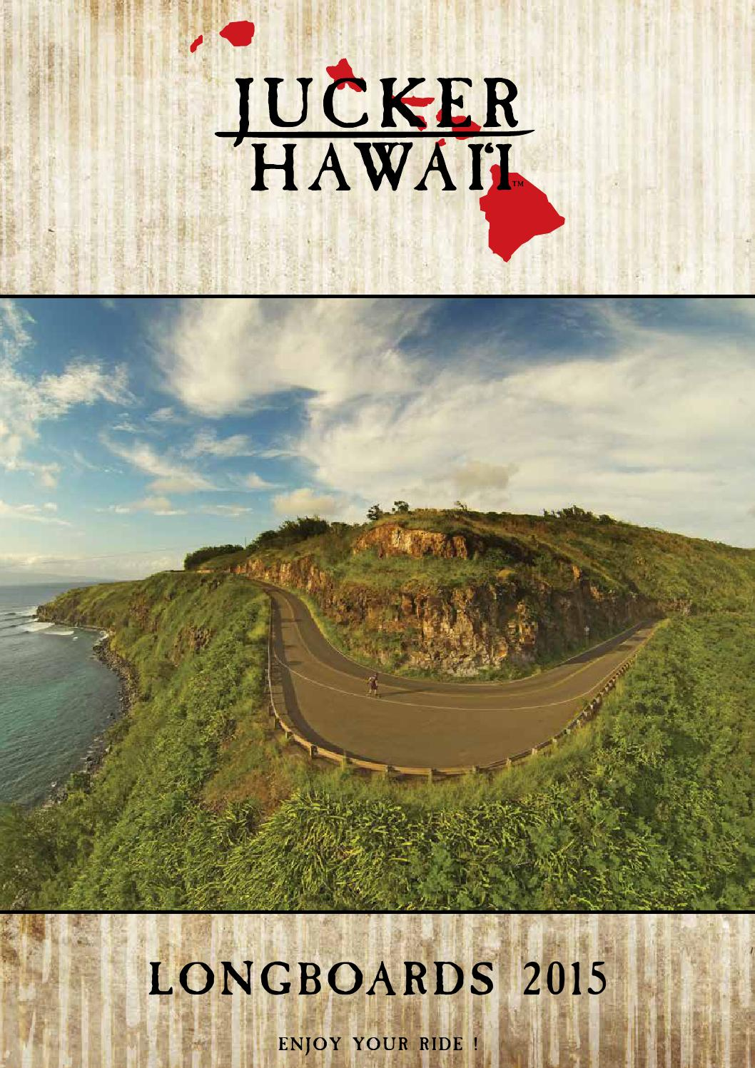 special edition JUCKER HAWAII Longboard MAKAHA SE
