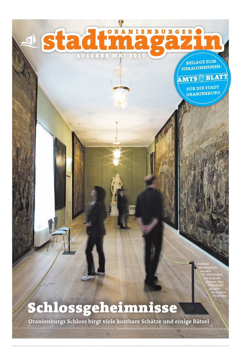 Oranienburger Stadtmagazin (Mai 2015) by Stadt Oranienburg - issuu