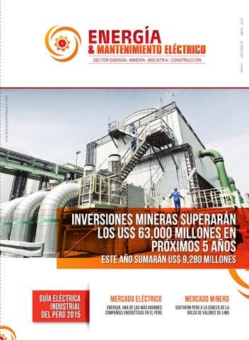 Guía Eléctrica Industrial del Perú 2015 by Energía y Negocios Perú ... 761afa62061