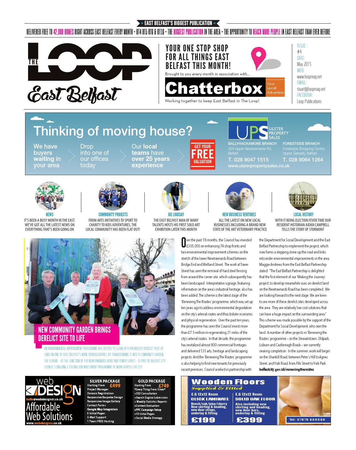 The Loop East Belfast May 2015 By Publications