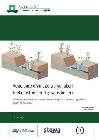 Regelbare Drainage Waterbeheer By Groenesteden Issuu