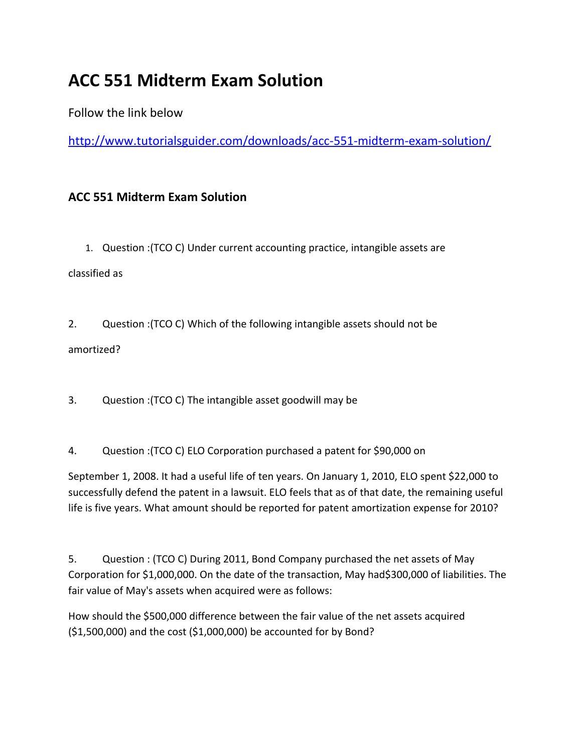Midterm exam 2011 | Term paper Sample - bluemoonadv com