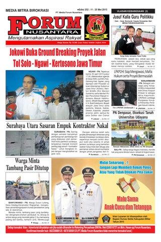 Forum 252 By Forum Nusantara Issuu