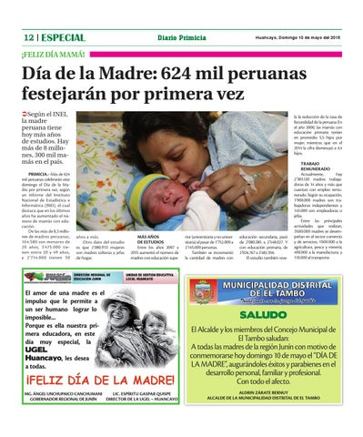 Madres solteras en huancayo