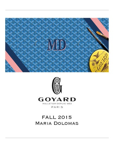 Goyard By Maria Dolomas Issuu - Commercial invoice template excel free download goyard online store