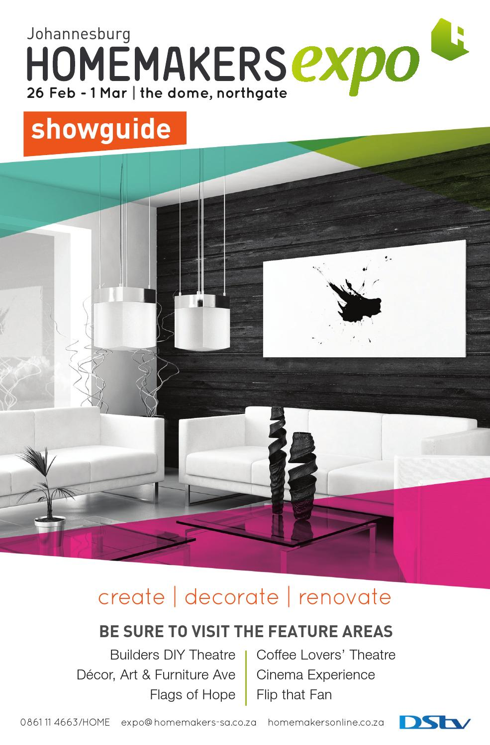 Johannesburg Homemakers Expo Showguide 2015 By Homemakers