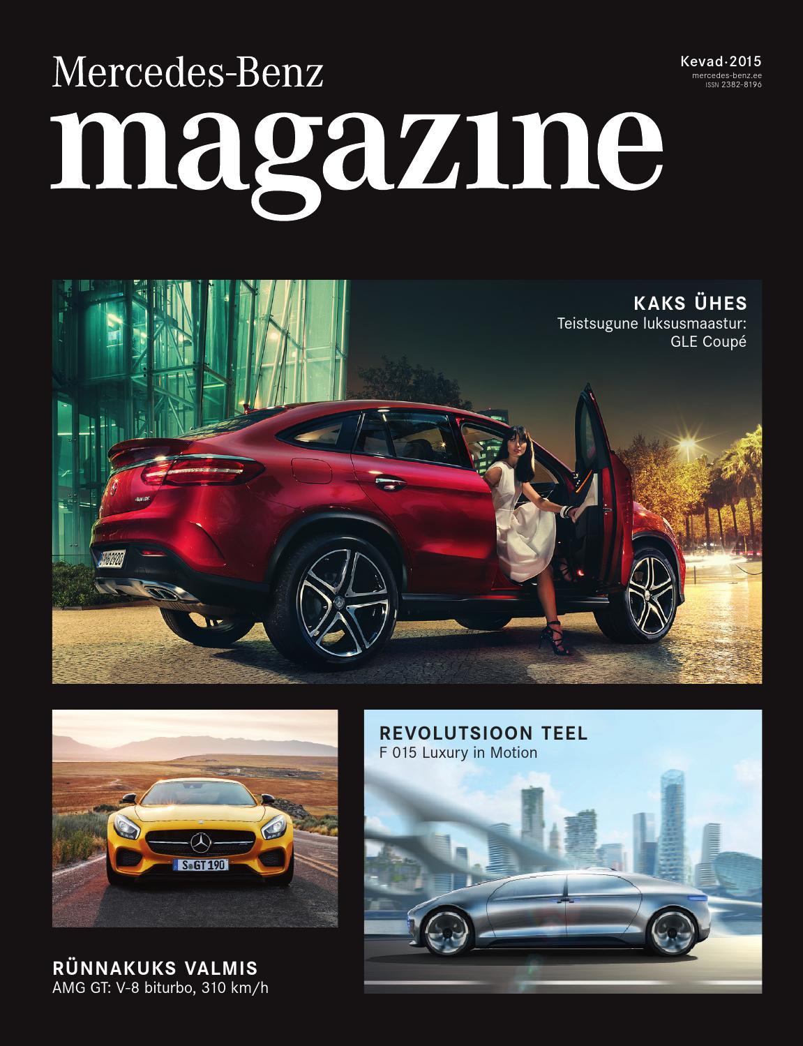 699121fc3f3 Mercedes-Benz magazine (kevad 2015) by Silberauto - issuu