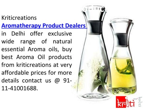 eec6b2b55b Buy Best Aroma Oil from kriticreations Aroma Therapy Product Dealers in  Delhi