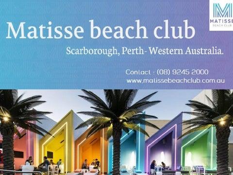 Matisse Beach Club By Matisse Beach Club   Issuu