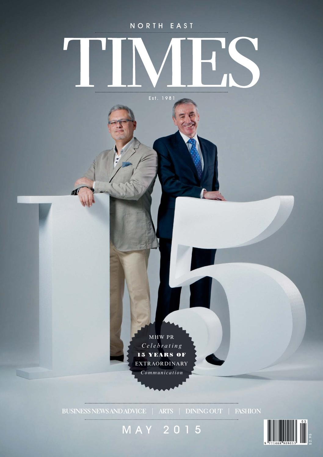 North East Times Magazine - May 2015 by North East Times Magazine ...