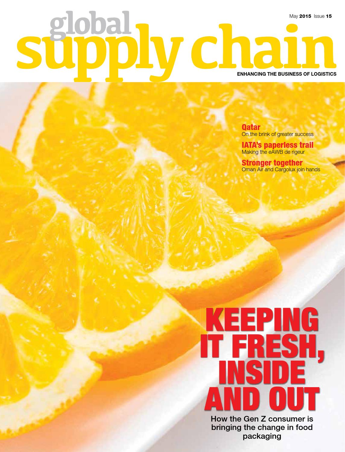 Global Supply Chain May 2015 Issue by GLOBAL SUPPLY CHAIN - issuu