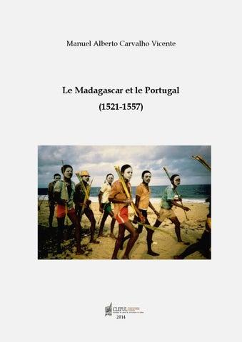 Le Madagascar Et Le Portugal (1521 1557) By Centro De Literaturas E ...