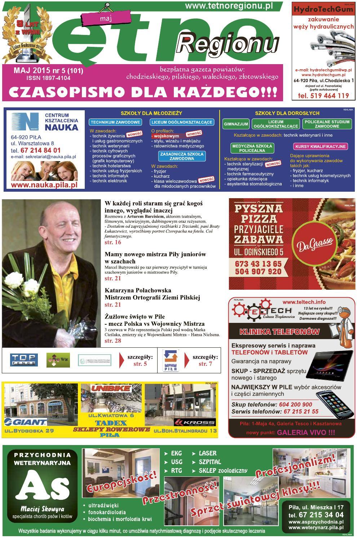 Maj 2015 By Tętno Regionu Bezpłatna Gazeta Powiatów Chodzieskiego