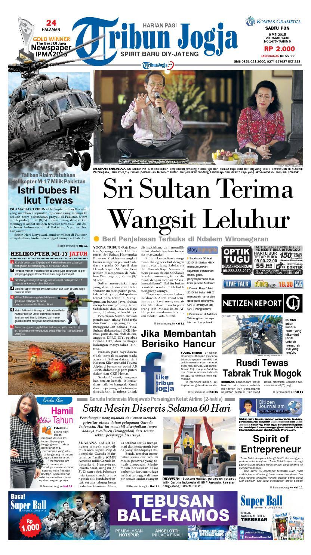 Tribunjogja 09 05 2015 By Tribun Jogja Issuu