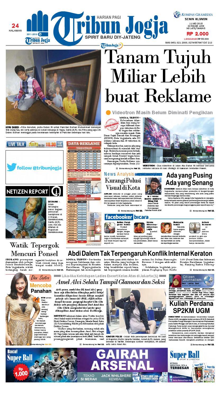 Tribunjogja 08 04 2015 By Tribun Jogja Issuu Fcenter Meja Rias Siantano Mr 905 Jawa Tengahdiyjawa Timur 11 05