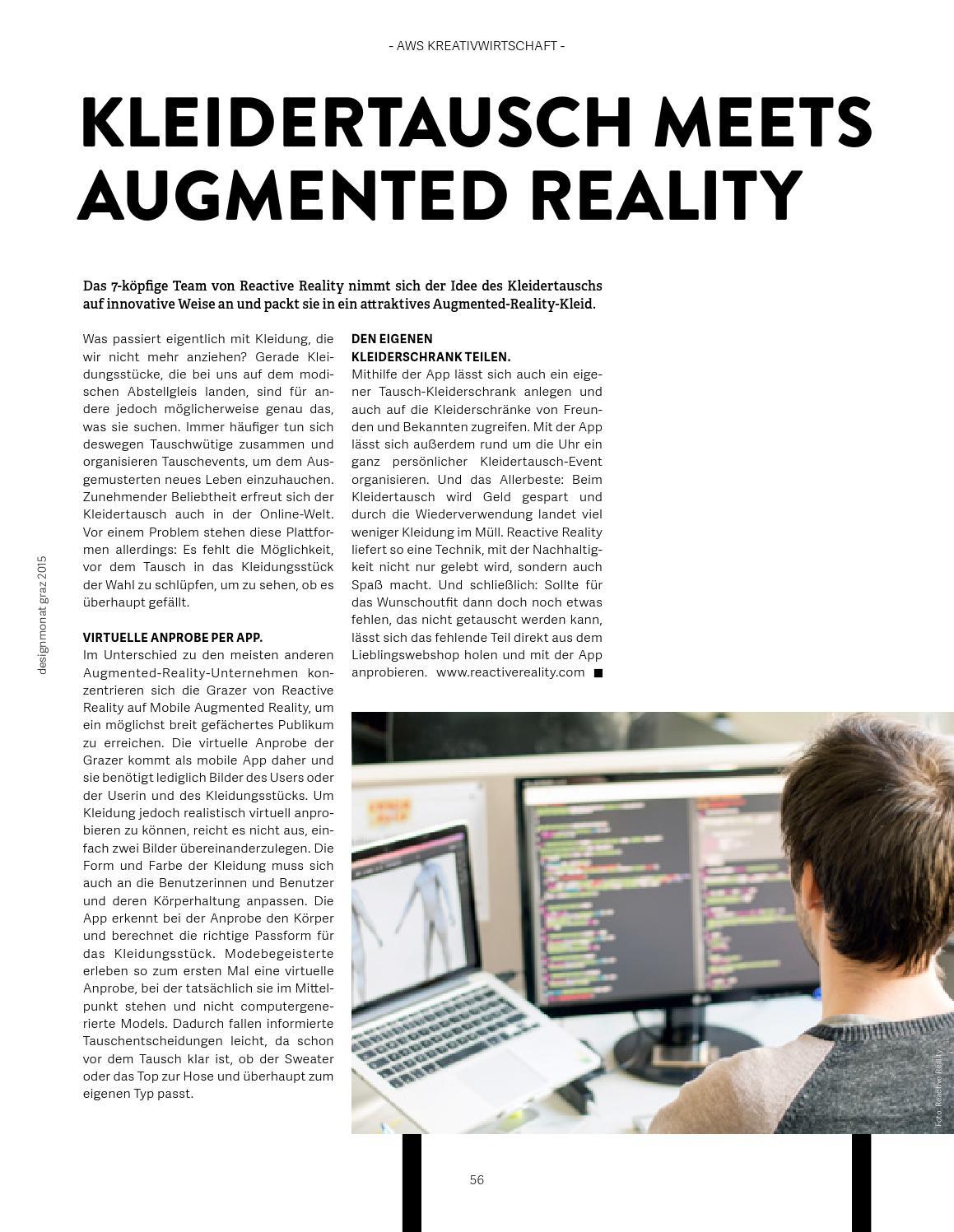Designmonat Graz 2015 | Magazine by Creative Industries Styria - issuu