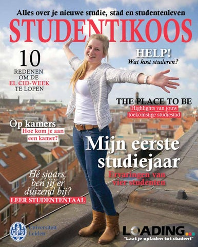 Studentengids Universiteit Leiden 2015 by Universiteit ...