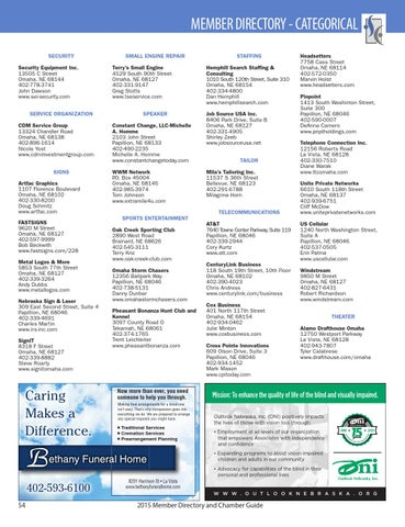 Sarpy County Chamber of Commerce by Suburban Newspapers - issuu