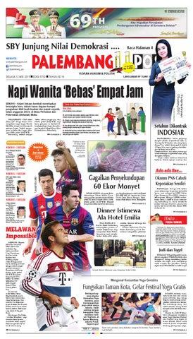 PALEMBANG POS EDISI SELASA 12 MEI 2015 by Palembang Pos - issuu 8d12f8d7f6