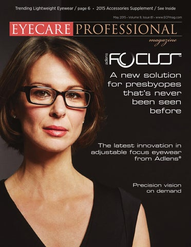 4b5a7448d86 Eye Care Professional Magazine - May 2015 Issue by ECP Magazine - issuu