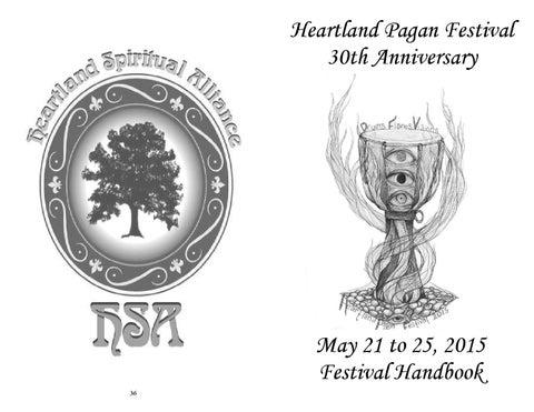 Heartland Pagan Festival 2015 Handbook by HSA Spirit Newsletter