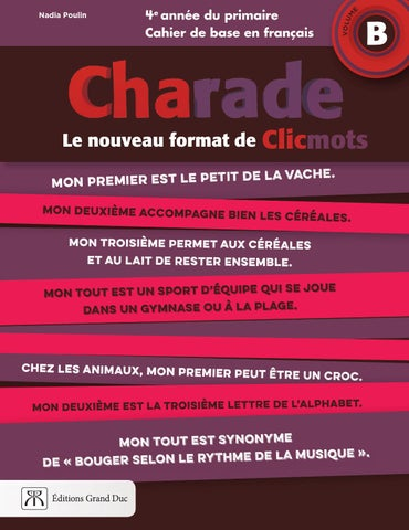4b Duc Feuilleteur Charade By Issuu Complet Éditions Grand 7yYf6bg