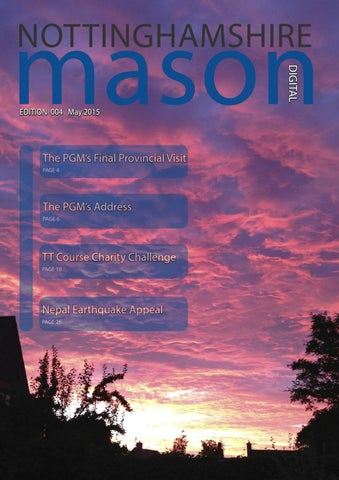 Nottinghamshire mason edition 4 by kevin rolling issuu mason 1 m4hsunfo Image collections