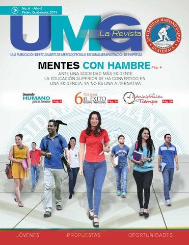 Revista Umg 2015 Preliminar By Franklin Marroqun Issuu