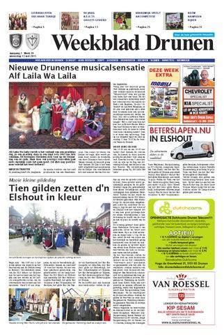 Weekblad Drunen 13 05 2015 By Uitgeverij Em De Jong Issuu