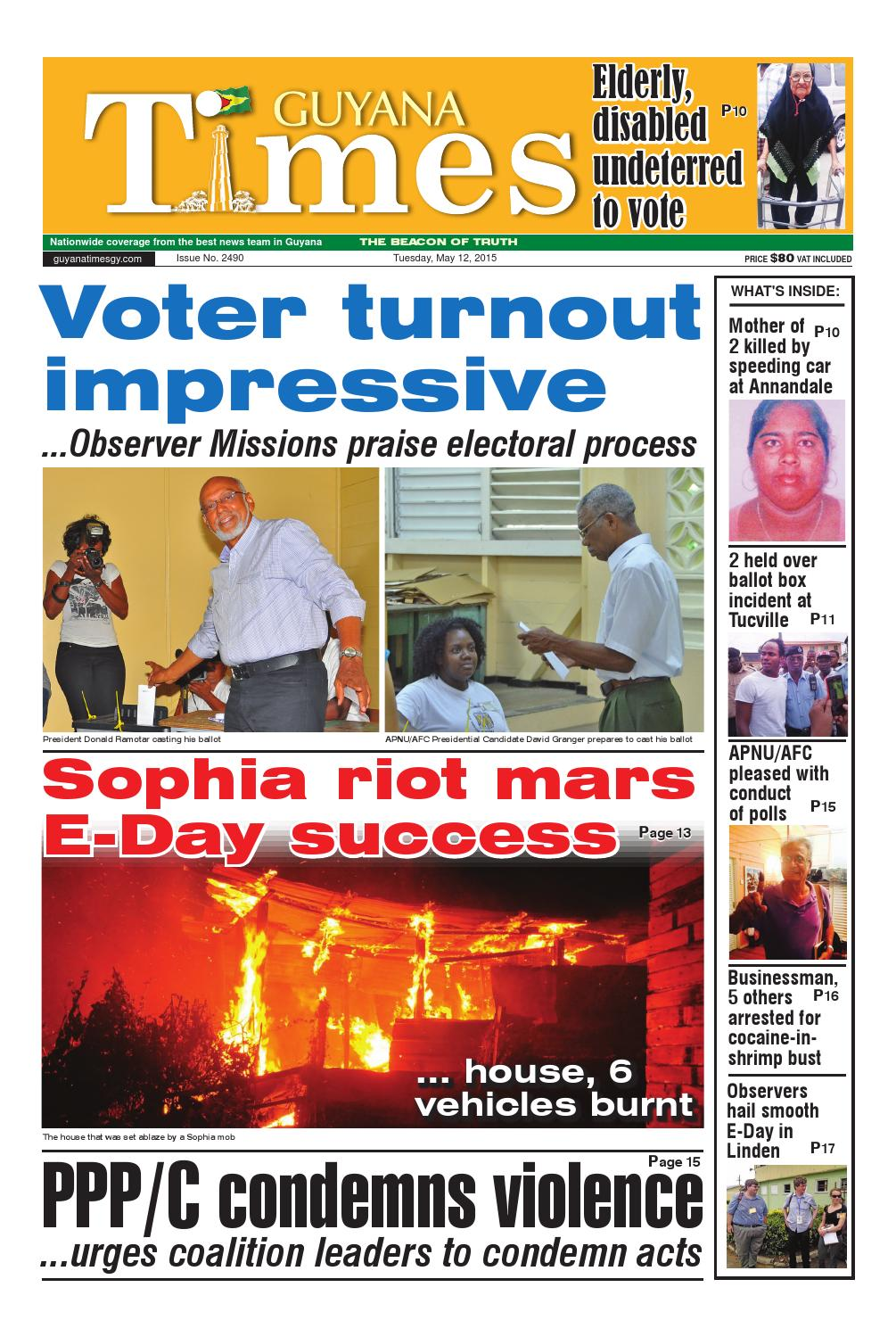 Guyana Times Daily - May 12, 2015 by Gytimes - issuu
