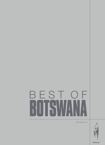 Best of Botswana - Volume 05 by Sven Boermeester - issuu