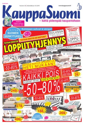 KauppaSuomi 20 2015 (P) by KauppaSuomi - issuu f1ed4f0504