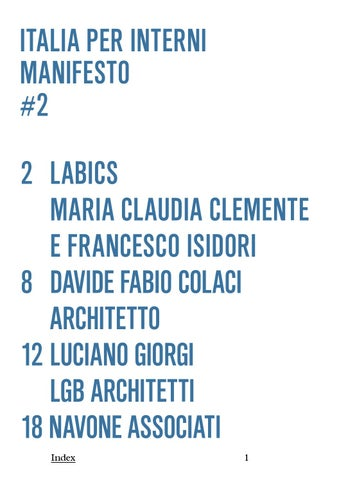 Design Index 2013 by Interni Magazine - issuu