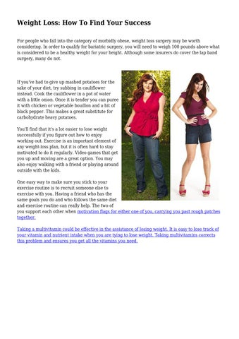 Weight Loss How To Find Your Success By Gleamingordinan85 Issuu
