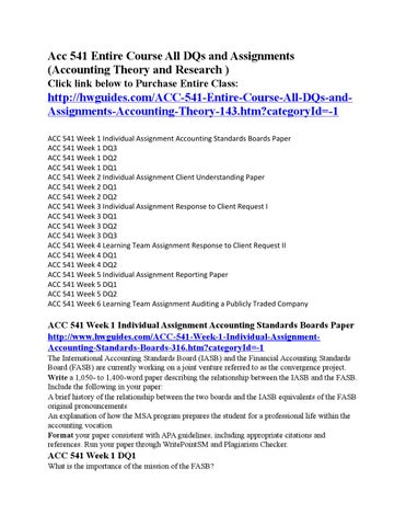 accounting standards boards paper Discussion paper issued (but not endorsed) by the iasb, and authored by staff of  the canadian accounting standards board (2005), which praised the positive.