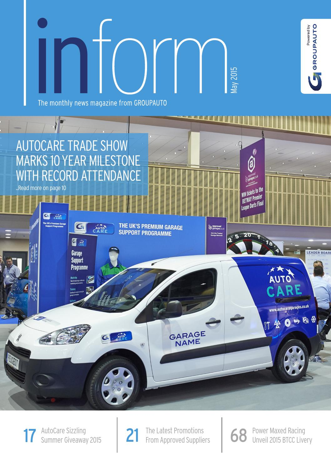 May 2015 By Groupauto Inform Magazine Issuu Peugeot 207 Faulty Wiring