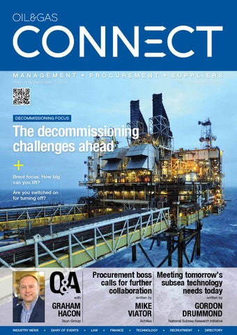 Oil Gas Connect Edition 16 By The Connect Series Ltd Issuu