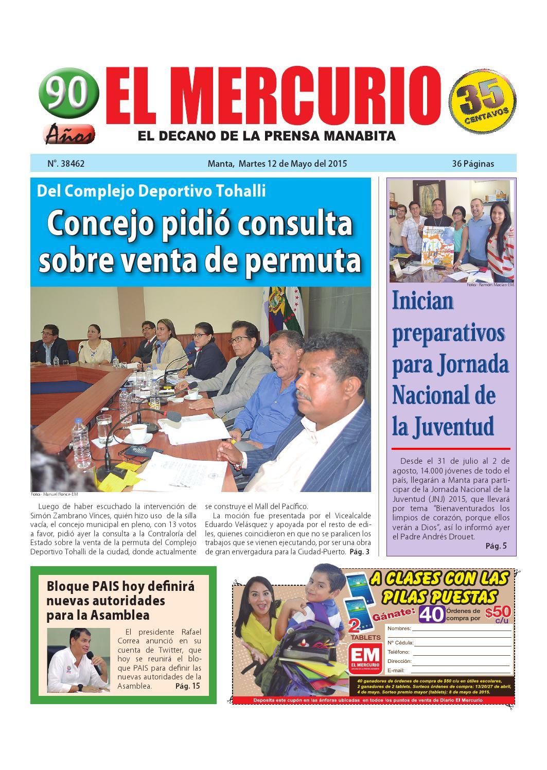 a8547ec05 Martes 12 de mayo del 2015 by Diario El mercurio - issuu