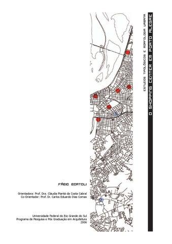 d2e6bb3886461 Estudos tipológicos e morfologia urbana  o shopping center em Porto ...