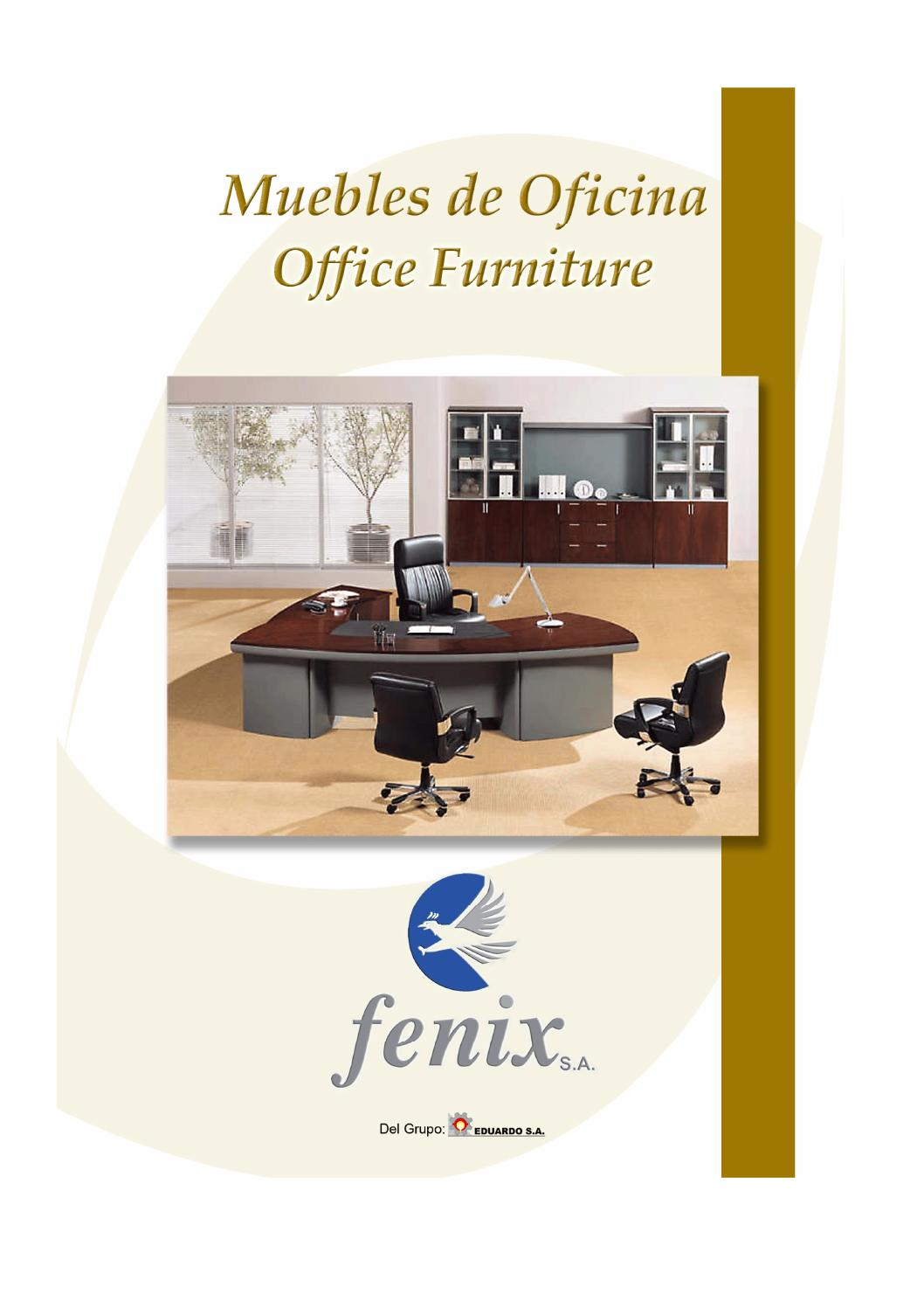 Catalogo muebles oficina by eduardosa bolivia issuu - Catalogo muebles oficina ...