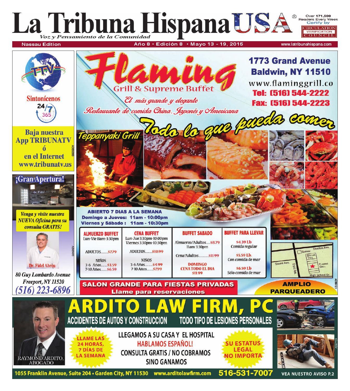Nassau Ed. 8, Año 8 by La Tribuna Hispana - issuu