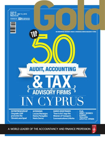 Gold Magazine Issue 49 by INBusiness - issuu
