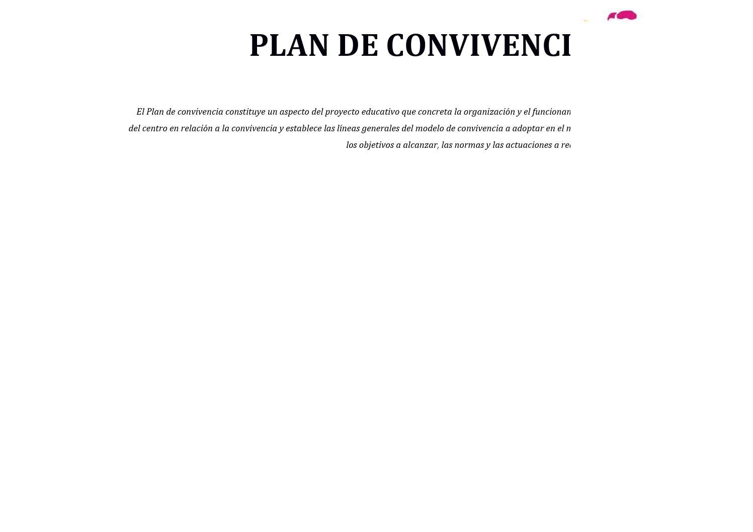 Plan de convivencia by Ies Laguna de Tollón - issuu