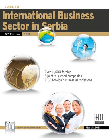 International Business Sector In Serbia 2011 By CorD Magazine   Issuu