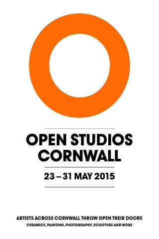 Open Studios Cornwall 2015 Guide Pdf By