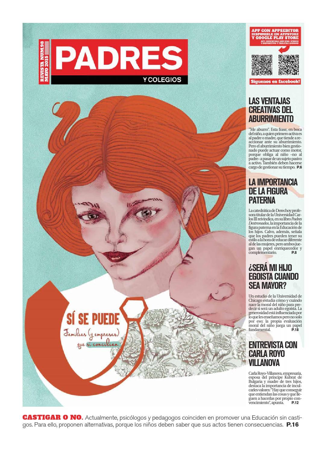 Padres y Colegios Nº 98 - mayo 2015 by Grupo Siena - issuu