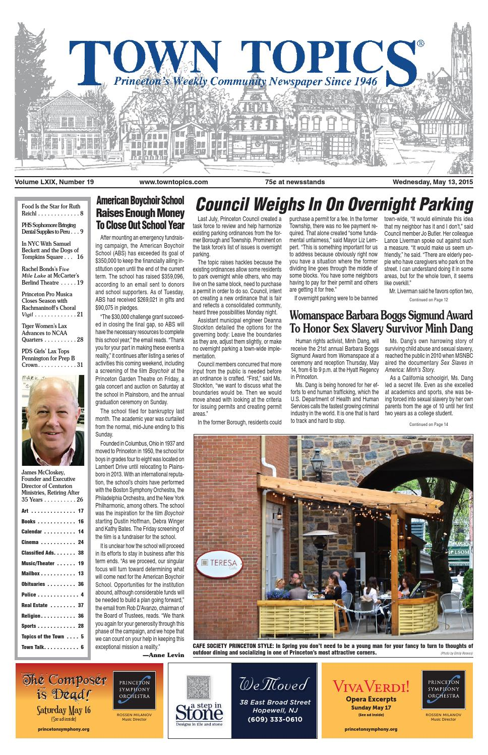 175c05b969548 Town Topics Newspaper May 13, 2015 by Witherspoon Media Group - issuu